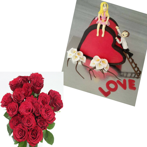 Deal 23 - Flowers, Cakes and Gifts delivery in Dubai UAE