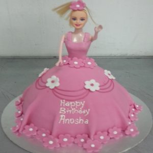 Barbie cake - SKUCAK065 - Flowers, Cakes and Gifts delivery in Dubai UAE