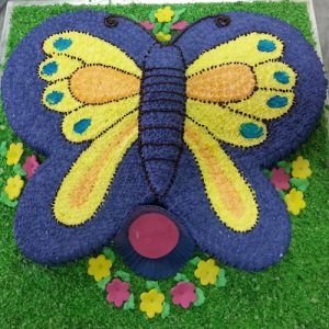Birthday Butterfly Cake - SKUCAK044 - Flowers, Cakes and Gifts delivery in Dubai UAE