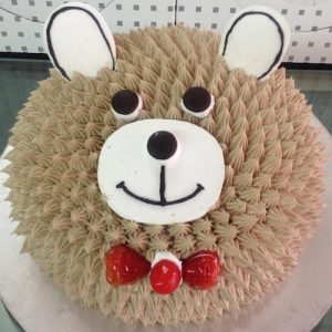 Bunny face cake 1 - SKUCAK059 - Flowers, Cakes and Gifts delivery in Dubai UAE