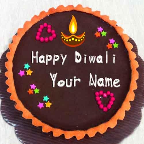 Diwali Theme Cake 1