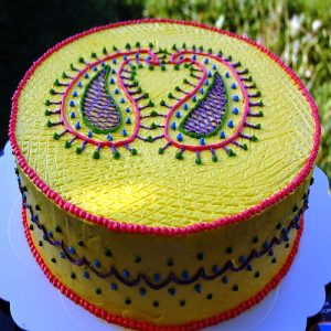 Diwali Theme Cake 2
