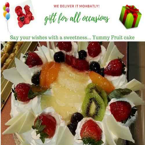1KG Vanila Fruit Cake - SKUCAK121