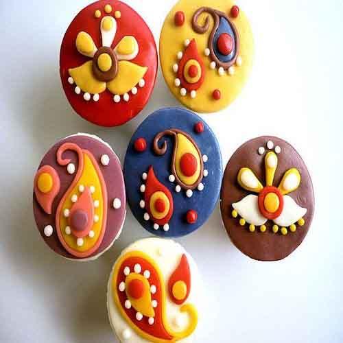 Diwali Theme Cup Cakes