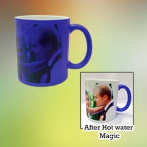 Shadow Magic Mug - Matte Blue