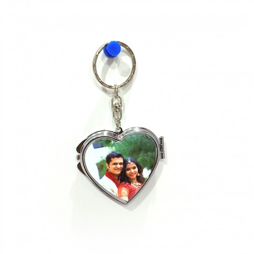 Heart Mirror Key Ring - Online Gifts Delivery UAE