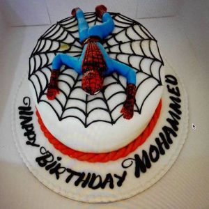 SpiderMan Cake - Online Gifts Delivery UAE