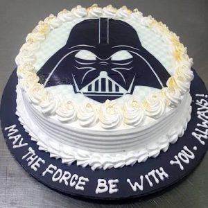 Min 2Kg - DARTH VADER CAKE - Theme cake 27
