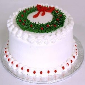 Min 1kg - Christmas Cake 2 - Online Gifts Delivery UAE