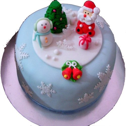 Min 2kg - Christmas Cake 3 - Online Gifts Delivery UAE