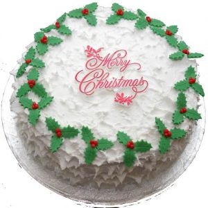 Min 1kg - Christmas Cake 4 - Online Gifts Delivery UAE