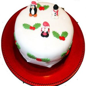 Min 2kg - Christmas Cake 5 - Online Gifts Delivery UAE