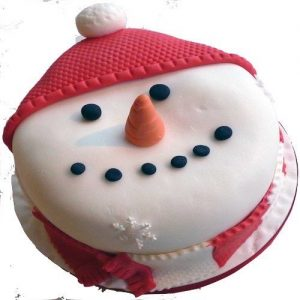 Min 2kg - Christmas Cake 6 - Online Gifts Delivery UAE