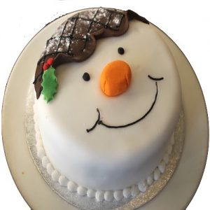Min 2kg - Christmas Cake 7 - Online Gifts Delivery UAE