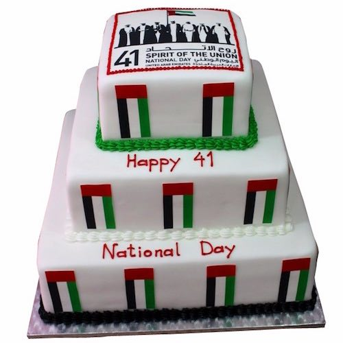 UAE Nationa Day Cake3