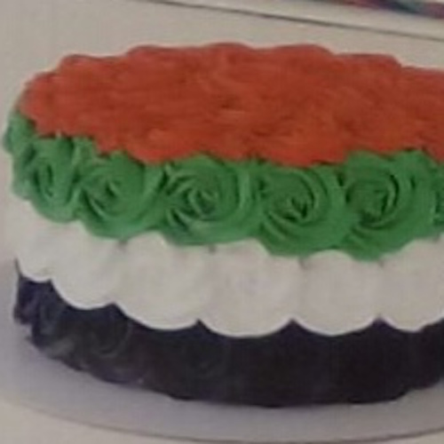 Min 2Kg - UAE Nationa Day Cake - Theme Cake 26