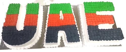 Min 6Kg - UAE Nationa Day Cake - Theme Cake 27