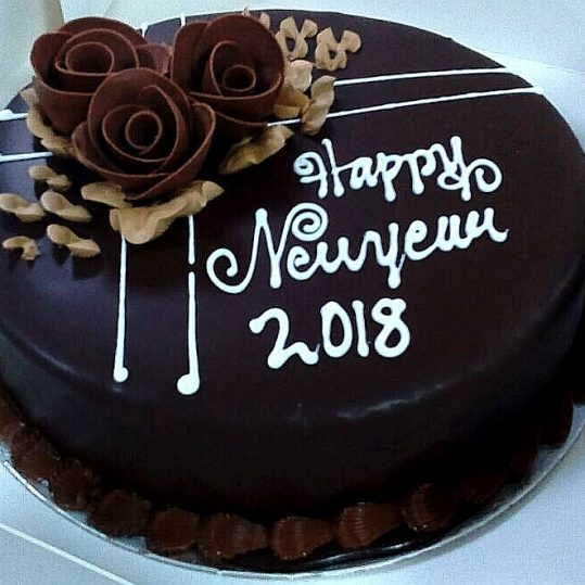 Min 1.5Kg - New Year Cake - SKUCAK153 - Online Gifts Delivery in Dubai UAE
