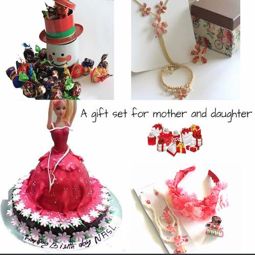 Gift combo for mother & daughter - Online Gifts Delivery UAE