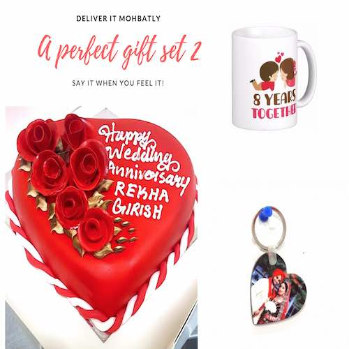 Gift combo for Wedding anniversary - Gifts delivery in Dubai UAE - SKU48