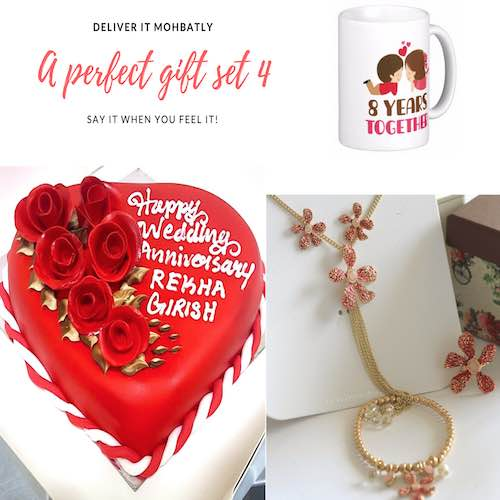 Gift combo for Wedding anniversary - Gifts delivery in Dubai UAE - SKU50
