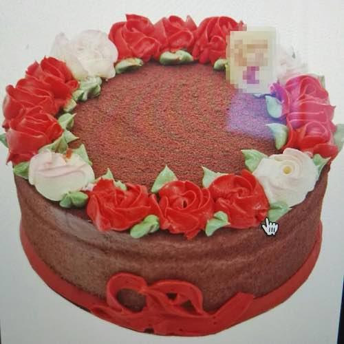 Min 1.5Kg - New Year Cake - SKUCAK154 - Online Gifts Delivery in Dubai UAE