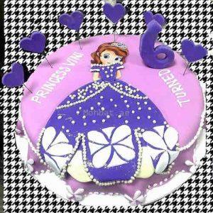 Sofia Doll Cake - Min 2 Kg Cake – SKUCAK166 - Online Gifts Delivery in Dubai UAE