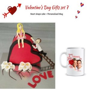 Valentine's Day Gifts Set 7 - SKU51 - Online Gifts Delivery in Dubai UAE