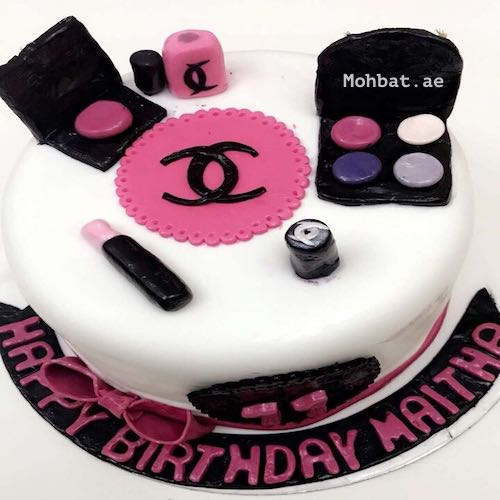 Makeup Table Cake - SKUCAK177 - Online Gifts Delivery in Dubai UAE