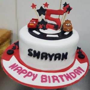 McQueen Cake - SKUCAK176 - Online Gifts Delivery in Dubai UAE