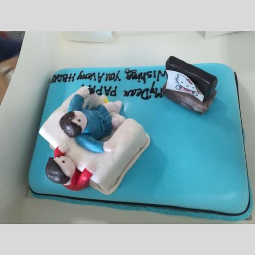 Min 2 Kg Cake – SKUCAK174 - Gift for dad's birthday - Online Gifts Delivery in Dubai UAE