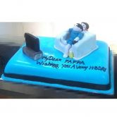 Min 2 Kg Cake – SKUCAK174 - Gift for dad's birthday - Online Gifts Delivery in Dubai UAE