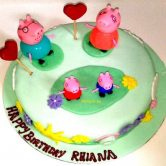 Peppa Pig Cake Dubai