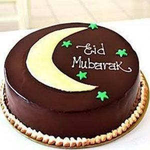 Min 1Kg EID Chocolate Cake