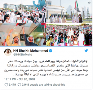When is UAE Flag Day celebrated?