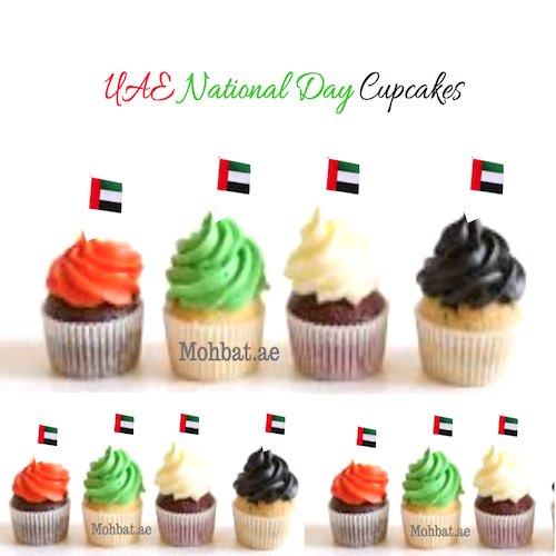 UAE National Day cupcake delivery