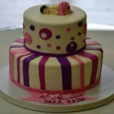 Baby Sleeping Double Layer Cake - Flowers, Cakes and Gifts delivery in Dubai UAE