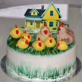 Hen Family Cake for Baby Shower - Flowers, Cakes and Gifts delivery in Dubai UAE