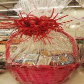 1 Kg D'zire chocolate wrapped in basket - Gifts Delivery UAE