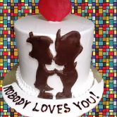 Love and Romance Cake - Online Gifts Delivery in Dubai UAE