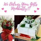 2 Kg Cake and Flowers Combo - SKU51